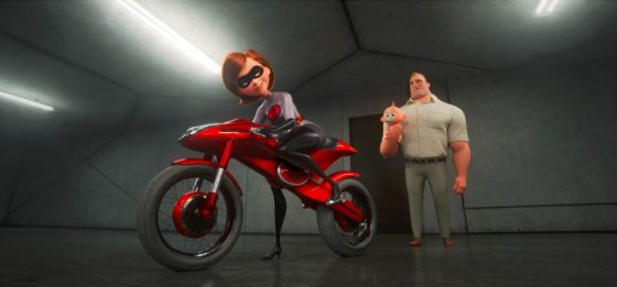 Elastigirl and her Bike