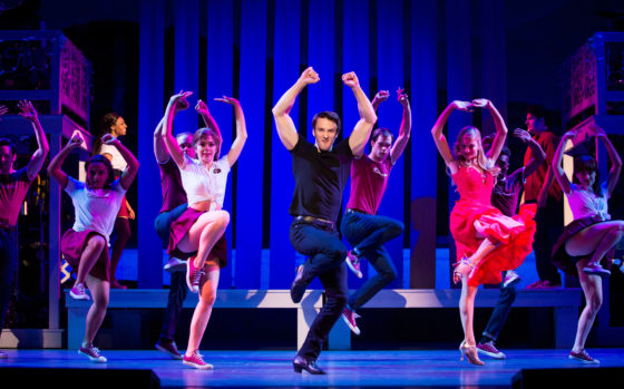 Aaron Patrick Craven and the 2018 cast of Dirty Dancing. Photo by Jeremy Daniel