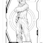 Han Solo Chewbacca Coloring Page