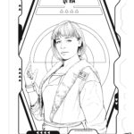 Han Solo Quira Coloring Page