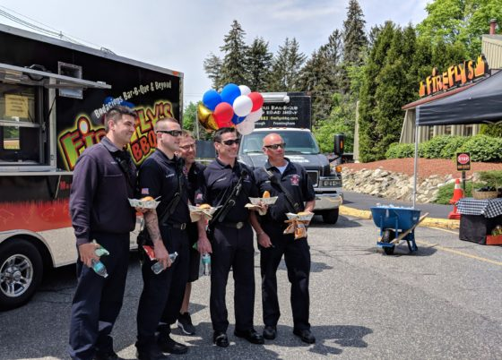 Free Lunch for First Responders Fire Police and Active Military on National BBQ Day