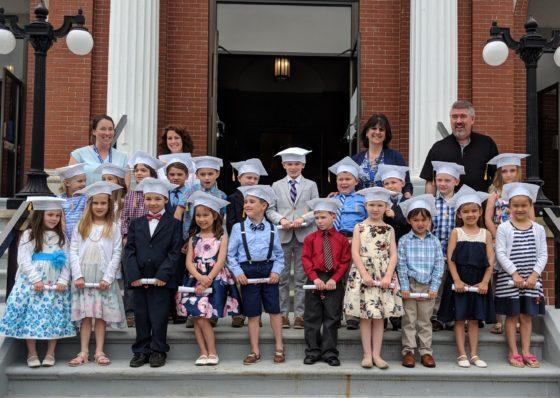 Andrew's Graduating Class