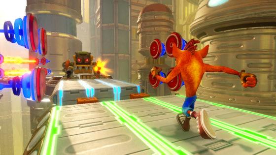 Nintendo SWITCH Crash Bandicoot Future Tense