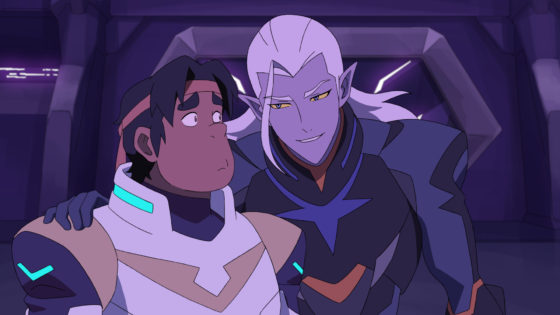 Prince Lotor and Hunk
