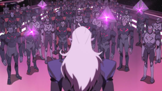 Lotor Addresses the Galra Empire