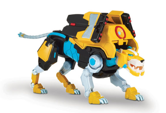 Voltron Hyper-Phase - Yellow Lion With Weapon