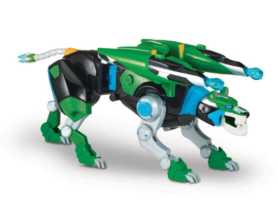 Voltron Hyper-Phase Green Lion With Weapon