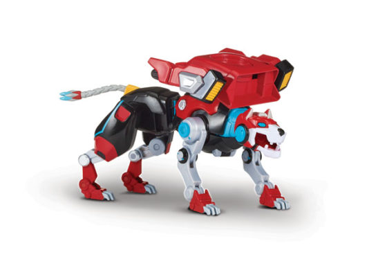 Voltron Hyper-Phase - Red Lion With Weapon
