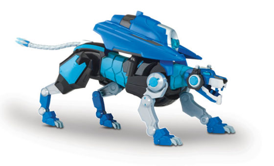Voltron Hyper-Phase - Blue Lion with Weapon