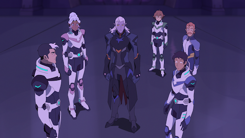 Lotor and the Paladins of Voltron