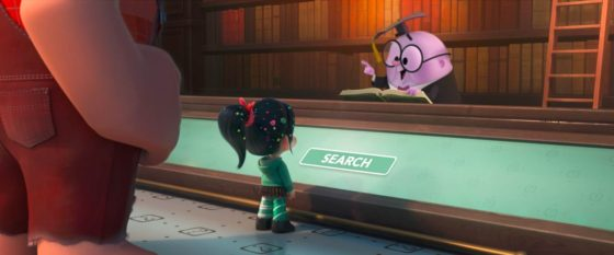 Ralph, Vanellope and KnowsMore