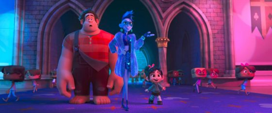 Yess - Taraji P Henson with Ralph and Vanellope