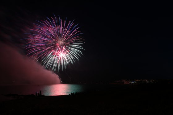 Falmouth Fireworks 2018