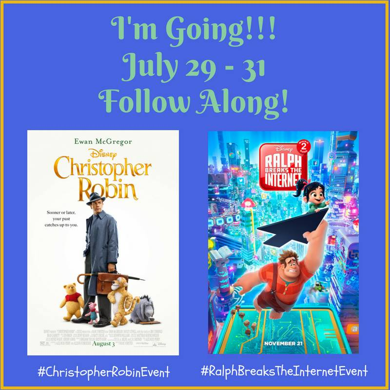 Christopher Robin Event - Ralph Breaks The Internet Event
