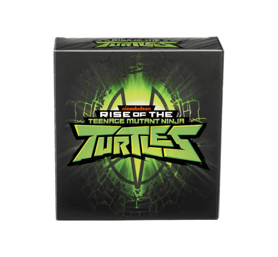 Rise of the Teenage Mutant Ninja Turtles SDCC Box Front