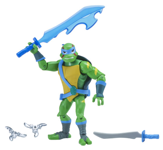 Rise of the Teenage Mutant Ninja Turtles SDCC Exclusive Leonardo