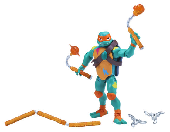 Rise of the Teenage Mutant Ninja Turtles SDCC Exclusive Michelangelo