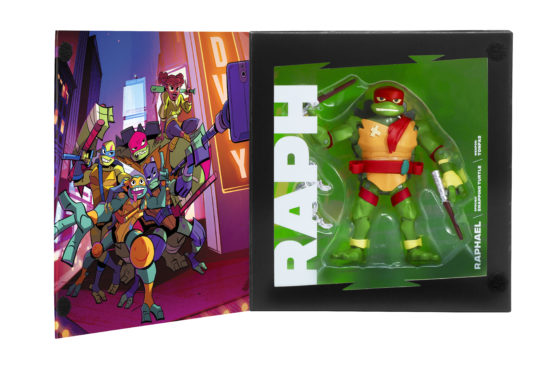 Rise of the Teenage Mutant Ninja Turtles SDCC Exclusive Raphael in Box