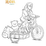 Christopher Robin - Daughter and Pooh