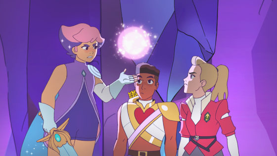 Glimmer, Bow and Adora