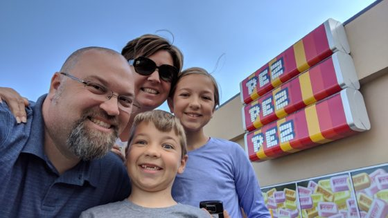 At the Pez Visitor Center Tour