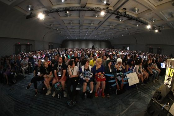 San Diego Comic-Con Voltron Panel Audience