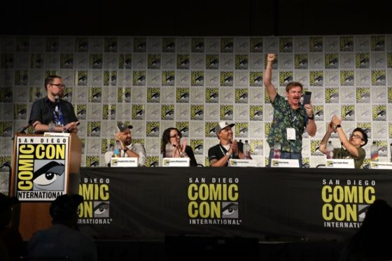 Voltron Panel at San Diego Comic-Con