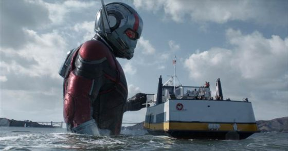 ANT-MAN becomes Giant Man