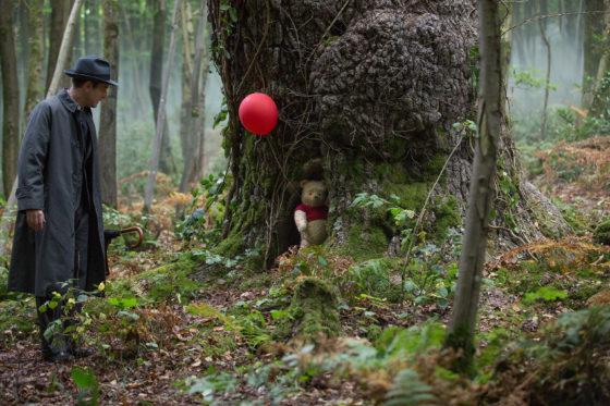 Christopher Robin Sends Pooh on his Waya