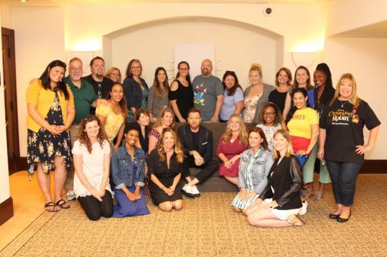 Ewan McGregor - Christopher Robin Interviews Group Photo