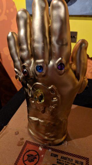 Wax Infinity Gauntlet