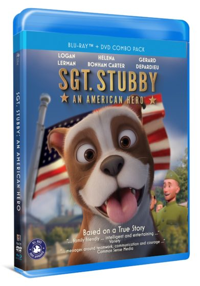 Blu-ray Case - Sgt Stubby