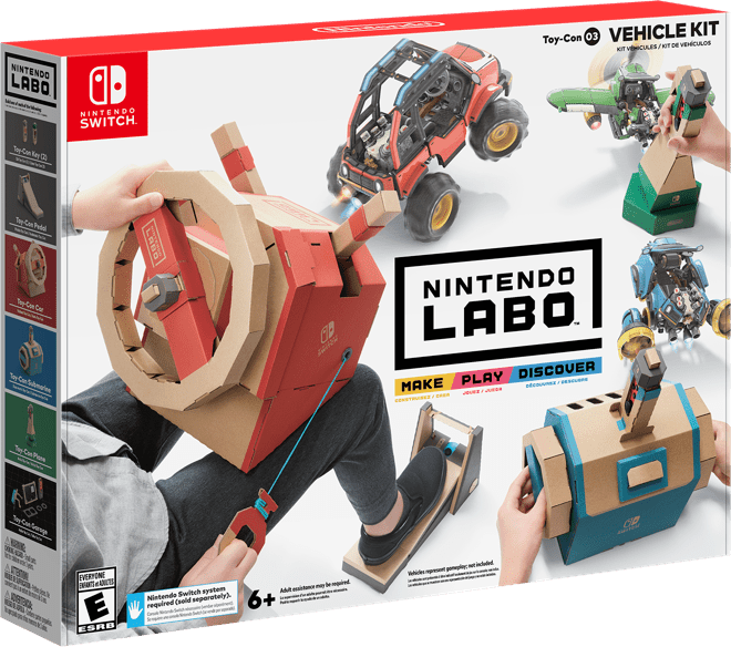 Nintnedo Labo Vehicle Kit