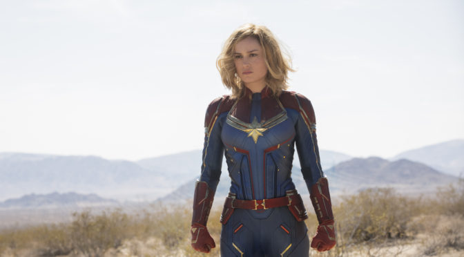The Captain Marvel Trailer and Poster have been Released