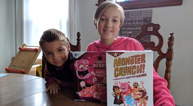 Review : Halloween Fun with Monster Crunch The Breakfast Battle Game