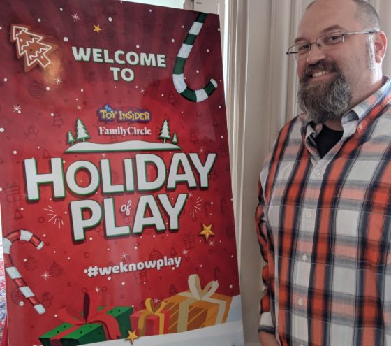 Attending the Holiday of Play