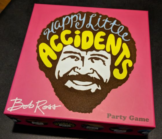 Review: Bob Ross Happy Little Accidents a Fun Family Board ...
