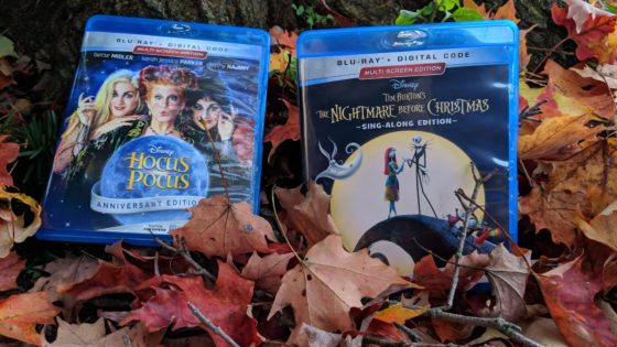 Hocus Pocus and A Nightmare Before Christmas