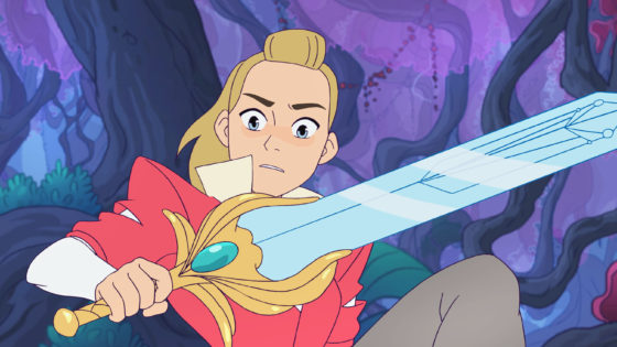 Adora find the sword