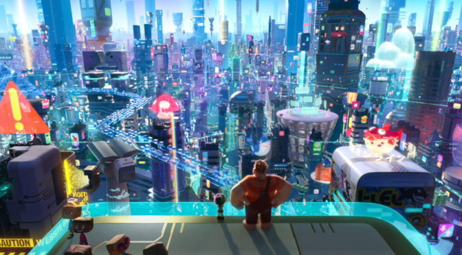 Ralph Breaks the Internet – Creating the Internet in a Movie in Three Easy Steps