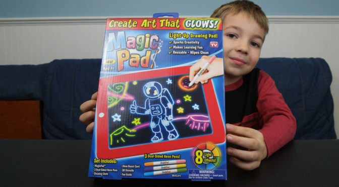 Neon Dreams with MagicPad™!
