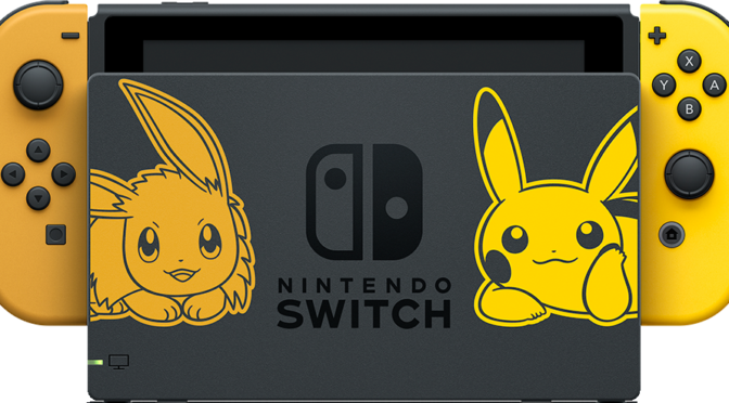 Pick a Side – Team Pikachu or Team Eevee with Pokémon Let's Go for the Nintendo Switch