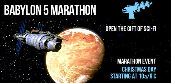 Babylon 5 Christmas Marathon _ COMET Banner