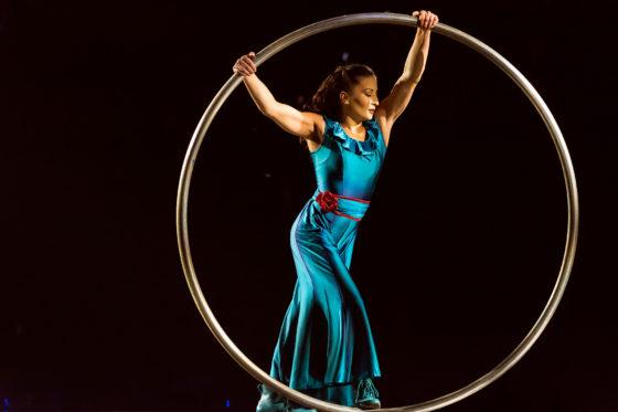 Cyr Wheel Costumes Dominique Lemieux 2018 Cirque du Soleil Photo 1
