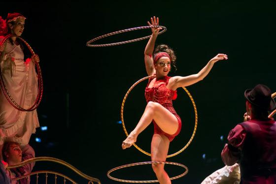 Hula-Hoop Costumes Dominique Lemieux 2018 Cirque du Soleil Photo 1
