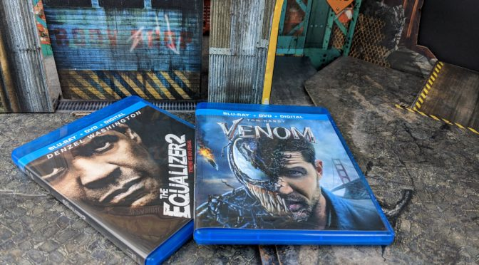 Have an Action-Packed, Adrenaline-Rush, Guy's Movie Night with Venom and The Equalizer 2 from Walmart