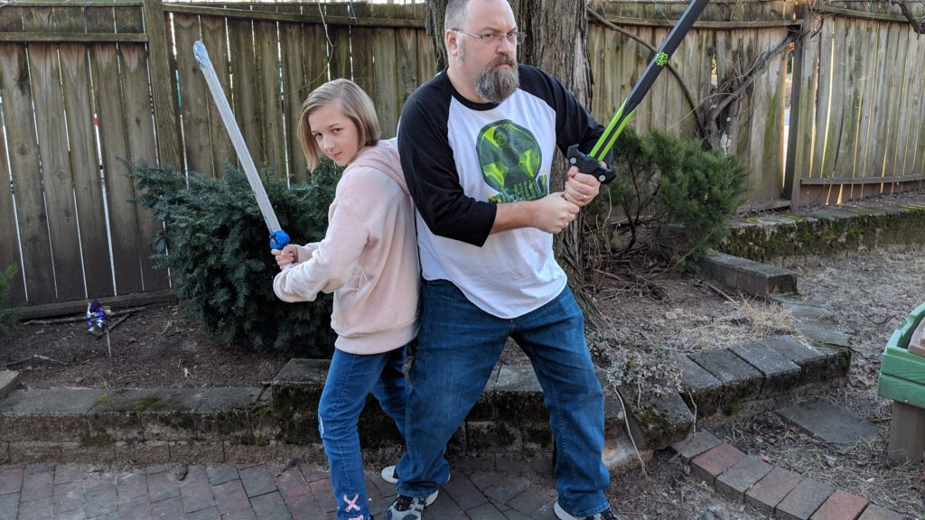 Backing Each Other Up Swords
