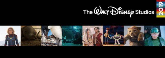 Disney Slate of Movies 2019