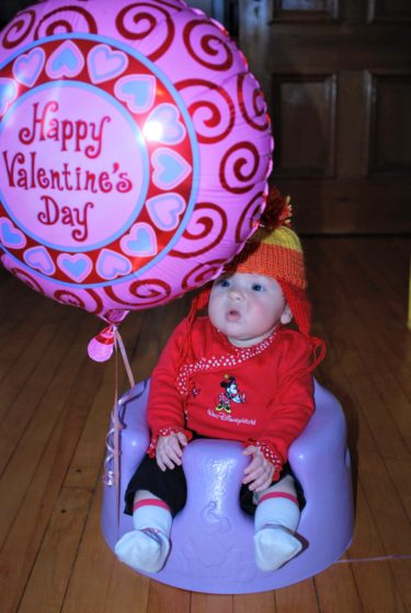 Evas First Valentines Day