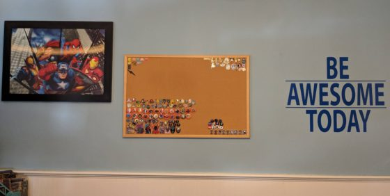 New Poster and Bulletin Board